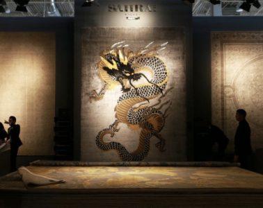 Interior Design Trends Paris Animal Prints, Dragon Area Rug
