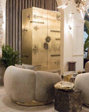 Interior Design Trends Paris Warm Metallics - Gold